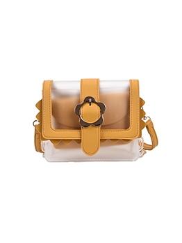 Fashion See Through Square Shoulder Bag
