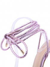 Catwalk Sexy Fashion Lace Up Heeled Sandals