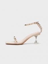Summer Rivet American Style Heeled Sandals