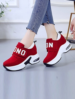 Trendy Easy Matching Students Chunky Sneakers