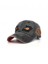Modern Embroidery Eye Summer Baseball Cap