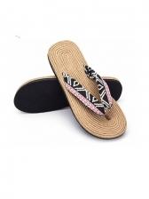 Animal Printed Flip Flop Slipper For Women