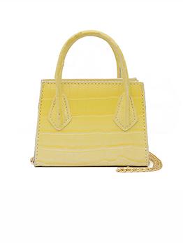 Korean Design Crocodile Print Fashion Handbags