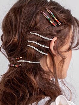 Korean Style Simple Stylish Hair Clip Versatile