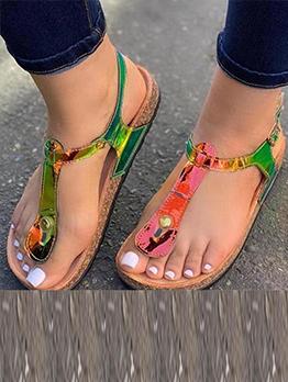 Cozy Soles Vintage Beach Flat Sandals For Women