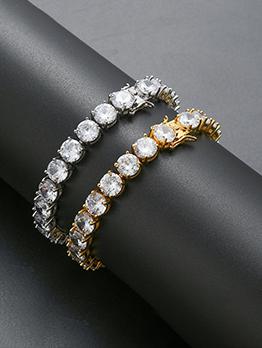 So Shinny Attractive Copper 8mm Bracelet