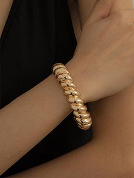 Trendy Metal Rhinestone Bracelet For Women