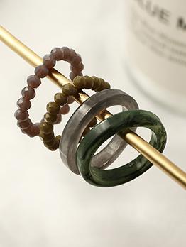 Resin Create National Vintage Beading Rings Set