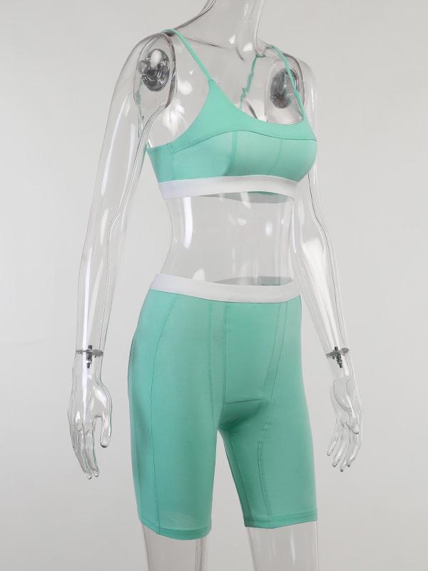 Sport Solid Tight 2 Piece Yoga Set