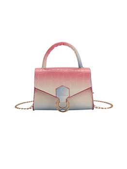 Adorable Gradient Color Stylish Chain Shoulder Bags
