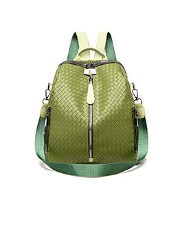 Street Versatile Women Dual Shoulder Backpack
