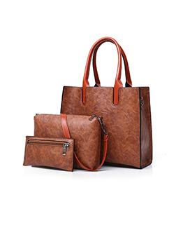 Vintage Simple Design 3 Piece Handbag Sets