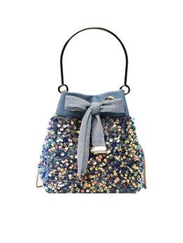 Chic New Elegant Sequined Chain Handbag