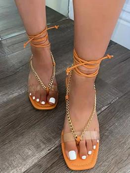 Summer Flat Leopard Beach Sandals For Girls