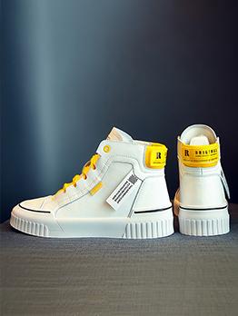 Versatile High Top Printed Designer Sneakers