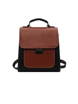 Fashion Contrast Color Ins Ladies Side Bag