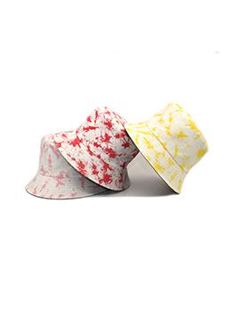 Fashion Tie Dye Cotton Unisex Bucket Hat