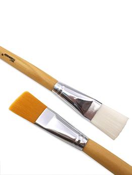 Artificial Fiber Solid Mask Makeup Brush