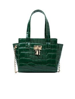 Fashion Printed Chain Ladies Side Small Tote Bags
