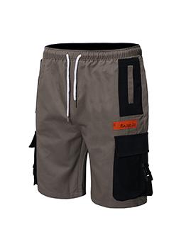 Casual Pocket Drawstring Loose Cargo Pants