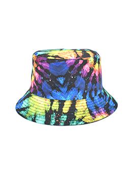 Easy Matching Tie Dye Unisex Fisherman Hat