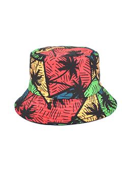 Casual Printed Multicolored Fisherman Hat