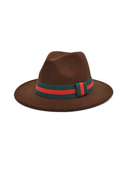 British Style Stylish Vintage Fedora Hat For Unisex
