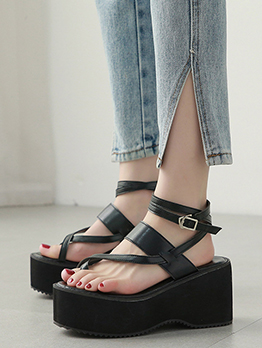 Sexy Wedge Sandals For Women Summer