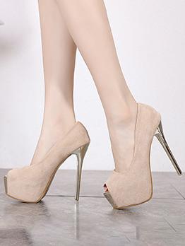 Fashion Stiletto Platform High Heels