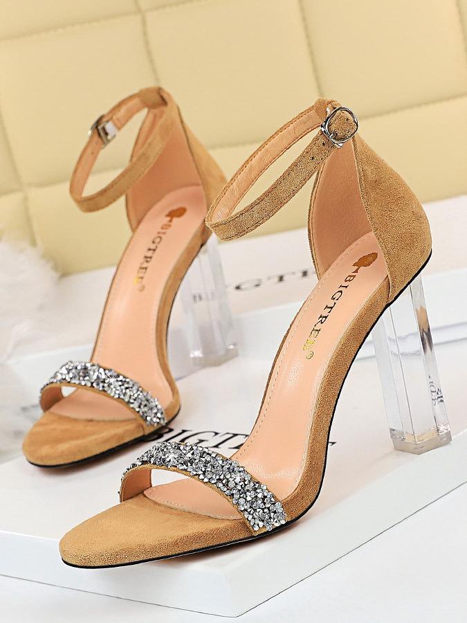 Night Club Rhinestone Sandals For Women