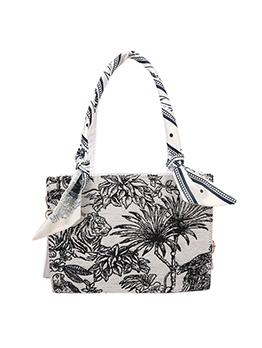 Summer Contrast Color Summer Designer Tote Bags
