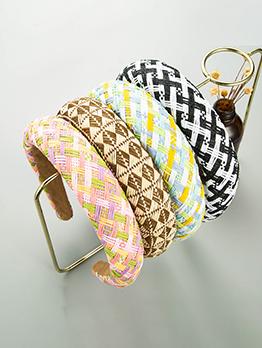 Sponge Thick Trendy Fashion Hair Hoop Women