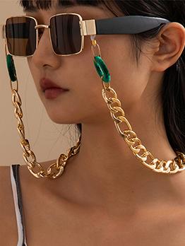 Easy Matching Aluminum Sunglasses Halter Chain