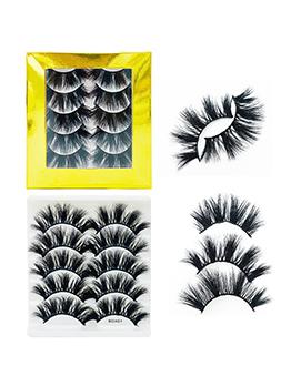 Natural Thick Black Wholesale False Eyelashes