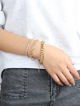 Fashion Street Snap Bracelet For Women