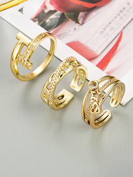 Fashion Easy Matching Unisex Index Finger Ring