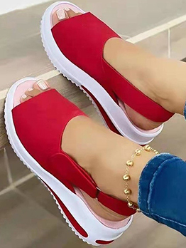 Latest Style Vintage Casual Women Flat Sandals