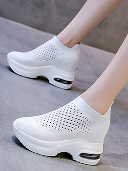 New Arrival Hollow Out Casual Slip On Shoes