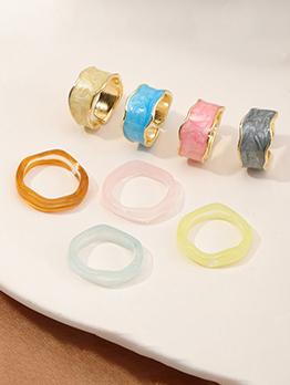 Vintage Round Design Rings For Women