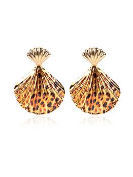 Vintage Leopard Earrings For Women