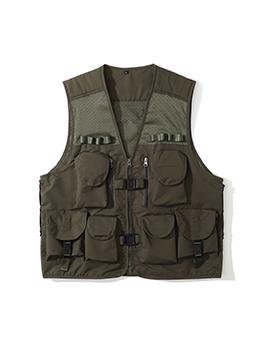 Hip Hop Solid Pocket V Neck Jacket
