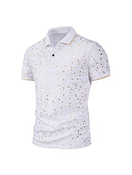 Fashion Star Short Sleeve Polo Shirts