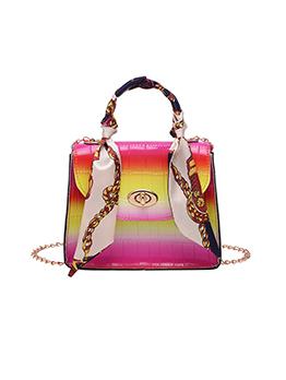 New Chain Gradient Color Ladies Purse