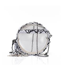 Trendy Fashion Tassel Chain Shoulder Bag