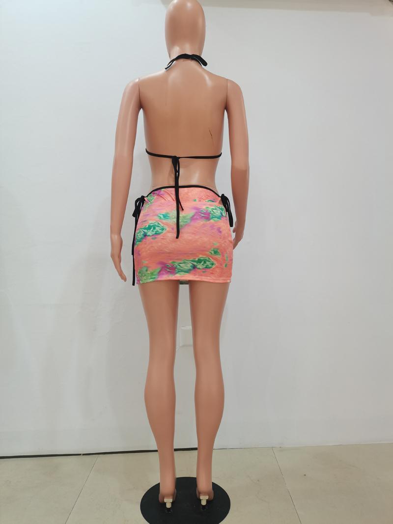Sexy Print 3 Piece Bikini Sets