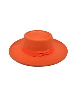 British Vintage Style Solid Unisex Fedora Hat