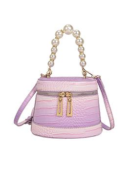 Fashion Alligator Print Faux Pearl Shoulder Bags
