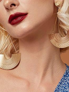 Catwalk Create Alloy Material Women Earrings