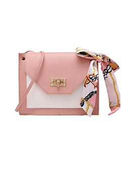 New Arrival Contrast Color Square Shoulder Bags