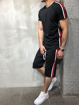 Sport Casual Fitness Men Workout Outfit Sets